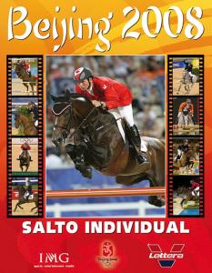 Juegos Olímpicos Beijing - Salto Individual