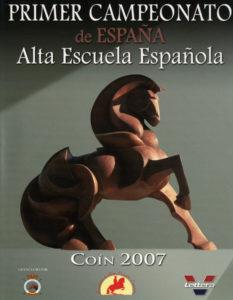 Campeonato de España de Alta Escuela 2007