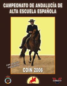 Campeonato de Andalucía de Alta Escuela 2006