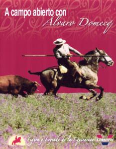 En el campo de los Álburejos con Álvaro Domecq