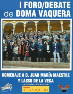 I Foro/Debate de Doma Vaquera (II)