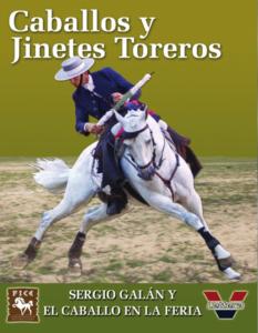 Sergio Galán y el caballo en la Feria